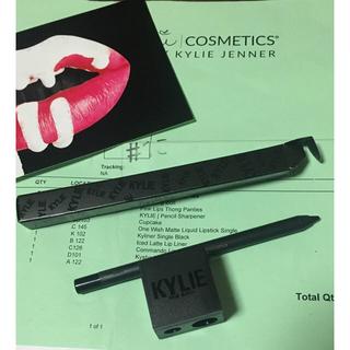 セフォラ(Sephora)のKylie Jenner kyliner + シャープナー セット(アイライナー)