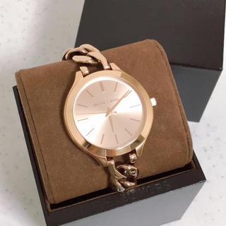 マイケルコース(Michael Kors)の【送料込み】マイケルコース 腕時計 ローズゴールド(腕時計)