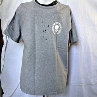 ナンバーナイン(NUMBER (N)INE)の【ナンバーナイン スカル Tシャツ グレー M  NUMBER (N)INE 】(Tシャツ/カットソー(半袖/袖なし))