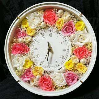 プリザーブドフラワー★花時計★(プリザーブドフラワー)