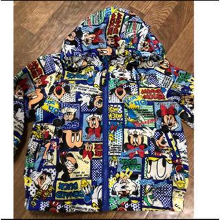 ディズニー(Disney)のディズニー キッズアウター フード付き(ジャケット/上着)