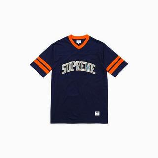 シュプリーム(Supreme)の【国内正規品】Supreme Glitter Arc Football Top(Tシャツ/カットソー(半袖/袖なし))