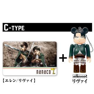 進撃の巨人 ナナコカードとフィギュア 新品未開封