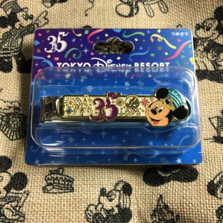 ディズニー(Disney)の東京ディズニーリゾート 35周年 ミッキー つめきり(キャラクターグッズ)