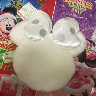 ディズニー(Disney)の販売終了!ディズニーリゾート ミニー ファー ポシェット(キャラクターグッズ)
