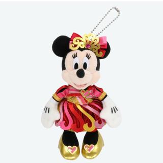 ディズニー(Disney)のディズニーリゾート 35周年 ミニー  ぬいぐるみバッジ(ぬいぐるみ)