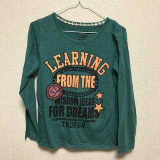 シマムラ(しまむら)のTシャツ ロゴTシャツ(Tシャツ(長袖/七分))