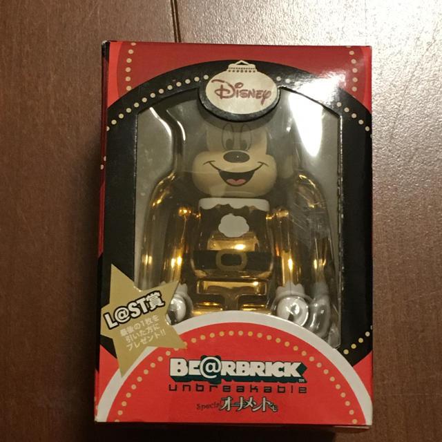ベアブリック  ミッキー エンタメ/ホビーのおもちゃ/ぬいぐるみ(キャラクターグッズ)の商品写真