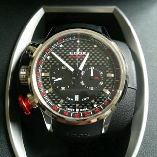エドックス(EDOX)のEDOX WRC CHRONORALLY 美品 正規品 送料込み(腕時計(アナログ))