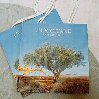 ロクシタン(L'OCCITANE)のL'OCCITANE shop袋(雑貨)