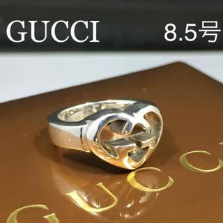 グッチ(Gucci)の新品仕上 グッチ GUCCI インターロッキング ハート リング 指輪 シルバー(リング(指輪))