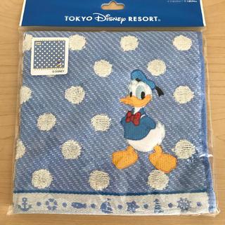 Disney - ディズニーリゾート ドナルドダック ハンドタオル