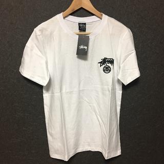 ステューシー(STUSSY)のSTUSSY Tシャツ Mサイズ 白(Tシャツ/カットソー(半袖/袖なし))