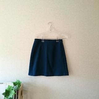 ジーユー(GU)のgu  台形ミニスカート(ミニスカート)
