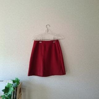 ジーユー(GU)のgu  台形ミニスカート          (ミニスカート)
