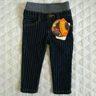 シマムラ(しまむら)の【新品】のびッパ 裏起毛 80センチ (パンツ)