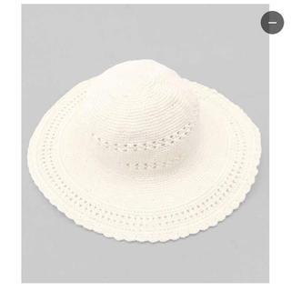 アナップミンピ(anap mimpi)のアナップミンピ anapminpi タグ付き 帽子 ハット かぎ編み(ハット)