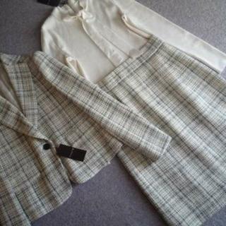 マッキントッシュ(MACKINTOSH)の新品 マッキントッシュロンドン 上質ツイードワンピーススーツ 182600円38(スーツ)