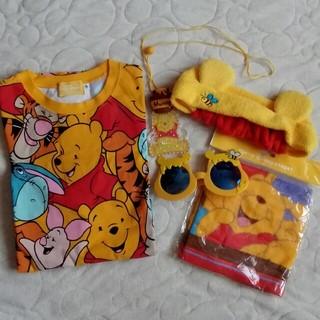 ディズニー(Disney)のディズニーリゾート くまのプーさん4点セット(Tシャツ/カットソー(半袖/袖なし))