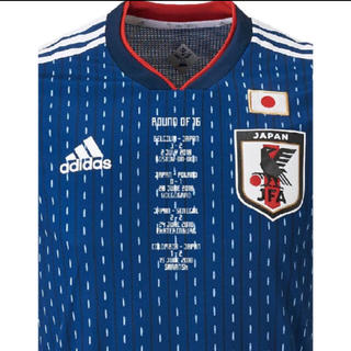 アディダス(adidas)のサッカー 日本代表 メモリアル ホーム オーセンティック ユニフォーム Lサイズ(記念品/関連グッズ)