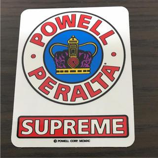 【縦9cm 横6.3cm】powel&supreme コラボステッカー