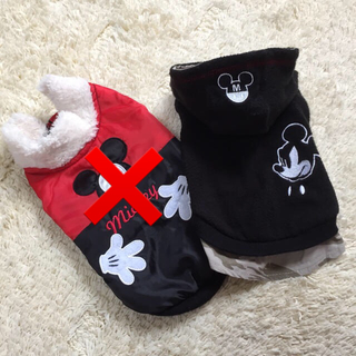 ディズニー(Disney)の❣️スリーアローズ  ❣️ミッキー♪2号 犬服  フリース 防寒着 アウター(犬)