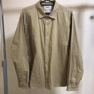 ヤエカ(YAECA)の18SS YAECA コンフォートシャツ リラックススクエア カーキ M(シャツ)