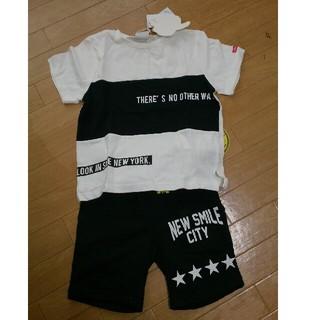 シマムラ(しまむら)の【新品】2点セット Tシャツ&ハーフパンツ(Tシャツ/カットソー)