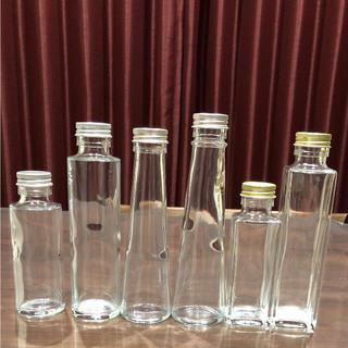 *選べるハーバリウム瓶 &フタ*5本セット*(その他)
