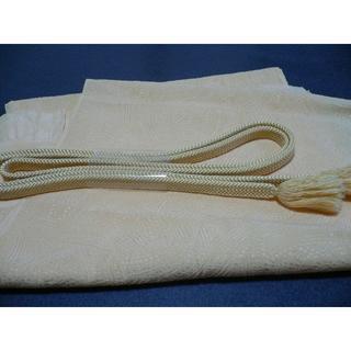 正絹 帯締め帯揚げセット(和装小物)
