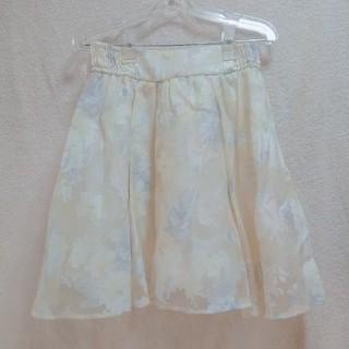 リズリサ(LIZ LISA)のLIZ LISA 花柄スカート フレアスカート(ひざ丈スカート)