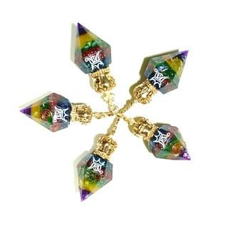 アラシ(嵐)のMJ様☆専用  嵐 Anniversary ダイヤモンド型オルゴナイト&缶バッチ(アイドルグッズ)