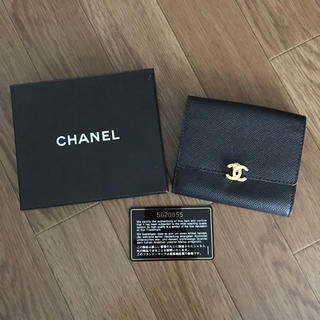 755e78f9f747 シャネル(CHANEL)のシャネル ヴィンテージ 二つ折り財布 Wホック コンパクトウォレット(財布