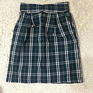 マジェスティックレゴン(MAJESTIC LEGON)のAラインスカート(ひざ丈スカート)
