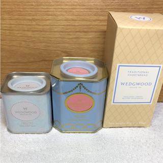 WEDGWOOD - ☆ウェッジウッド 紅茶 2缶&ビスケット☆ショップ袋付き