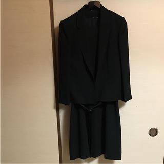美品!アンサンブルブラックフォーマル(礼服/喪服)