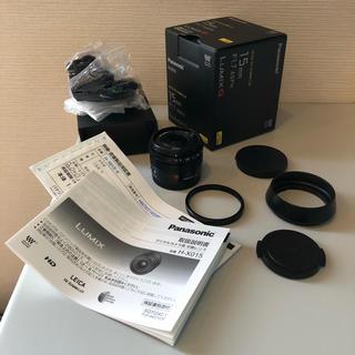 Panasonic - パナライカ DG SUMMILUX 15mm/F1.7 ASPH おまけ付