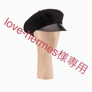 クリスチャンディオール(Christian Dior)の【新品同様】Dior ベレー帽 ベレーキャップ(ハンチング/ベレー帽)