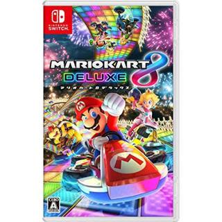ニンテンドースイッチ(Nintendo Switch)の☆マリオカート8☆(家庭用ゲームソフト)
