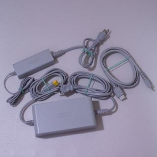 Wii U - Wii U 本体専用ACアダプター&ゲームパッド専用ACアダプター&HDMI D