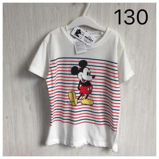 ディズニー(Disney)の【新品】ミッキー♡半袖 Tシャツ 130(Tシャツ/カットソー)