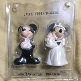 Disney - ディズニー ミッキー  ミニー ソルト&ペッパー ケーキトッパー ウエディング