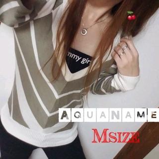 アクアネーム(AquaName)のAquaName/肩あきトップス(カットソー(長袖/七分))