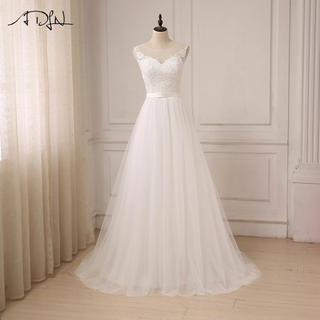 インポート ウエディングドレス ホワイト
