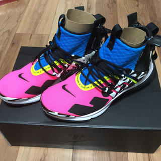 ナイキ(NIKE)のAcronym x Nike presto mid アクロニウム プレスト(スニーカー)