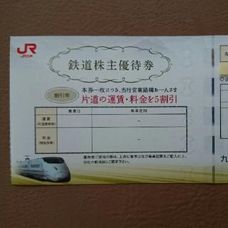 JR - JR九州 株主優待券 10枚