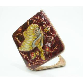 コンパクトミラー 手鏡 蝶々(ミラー)