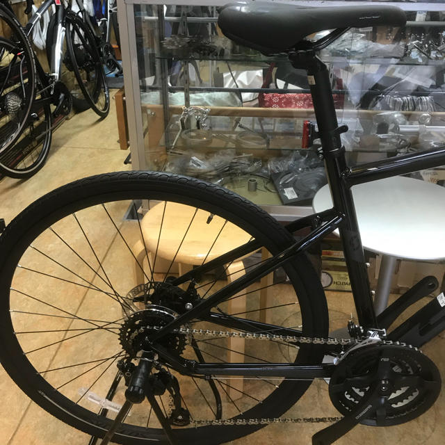 SCOTT(スコット)の2019モデルSCOTT『スコット SUB J2クロスバイク Mサイズ』ブラック スポーツ/アウトドアの自転車(自転車本体)の商品写真