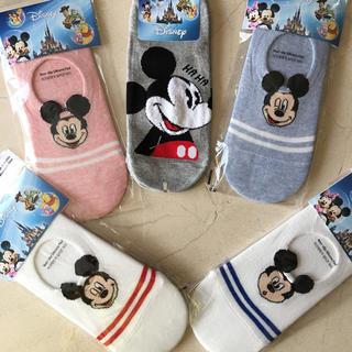 Disney - ディズニー靴下5足セット