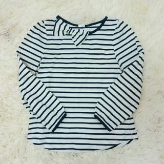ジーユー(GU)のころまめ様専用✨ボーダーの長袖Tシャツ✨(Tシャツ/カットソー)